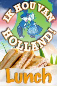 Ik Hou van Holland Lunch in Alkmaar